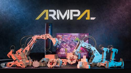 ARMPAL: World s First 3D Wooden Assembly Tabletop Game