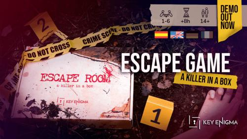 Calling Card: An Immersive Murder Mystery Escape Game