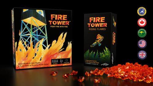 Fire Tower: Rising Flames Expansion + Reprint