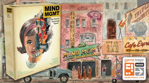 "MIND MGMT: The Psychic Espionage ""Game"""