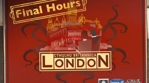 Cthulhu Britannica: London -  Call of Cthulhu RPG boxed set