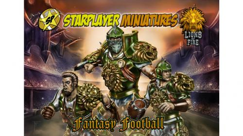 Human team for Fantasy Football! Lions of Fire!
