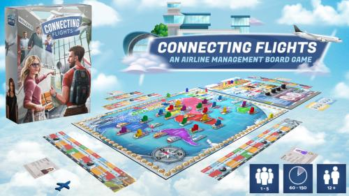 Connecting Flights: An Airline Management Board Game