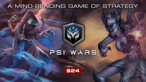 Psi Wars: A Mind-Bending Game of Strategy