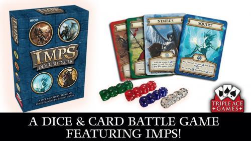 Imps Devilish Duels: A Dice & Card Battle Game
