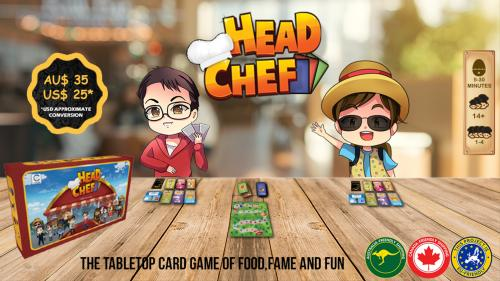 Head Chef - The tabletop card game of food, fame and fun!