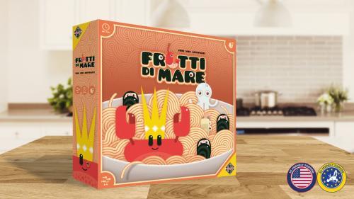 Frutti di Mare: a strategically delicious board game!
