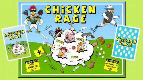 CHICKEN RAGE- Fight like a chicken!