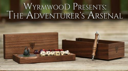 The Wyrmwood Adventurer s Arsenal
