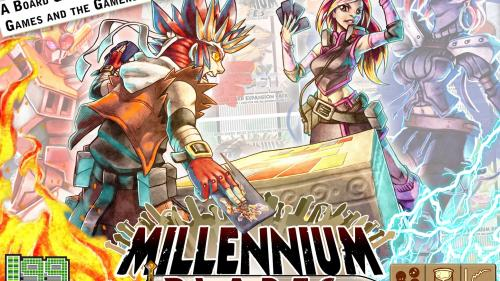 Millennium Blades -- The CCG-Simulator Board Game