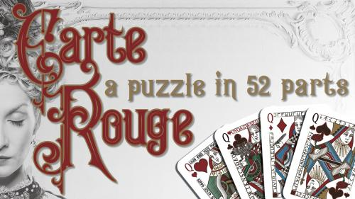 Carte Rouge — A Puzzle in 52 Parts