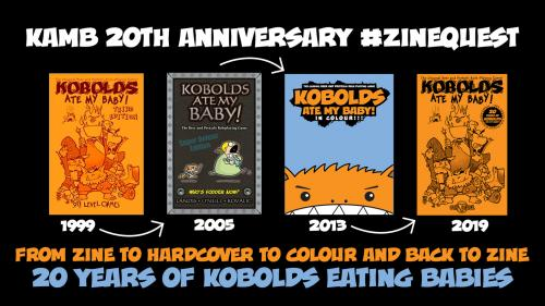 Kobolds Ate My Baby! 20th Anniversary - ZINE QUEST