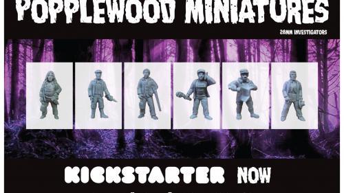 Popplewood Miniatures Investigators....Wave Two