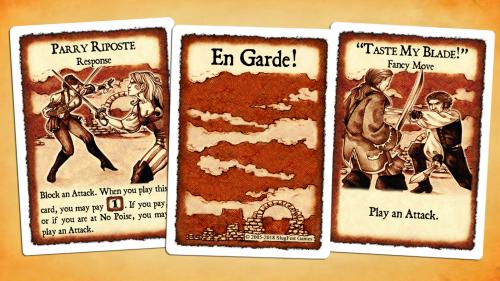 En Garde! - The cinematic dueling card game.