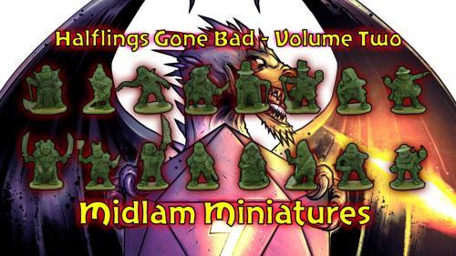 Halflings Gone Bad - Volume Two