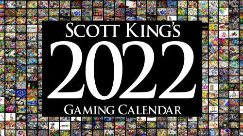 2022 Gaming Calendar