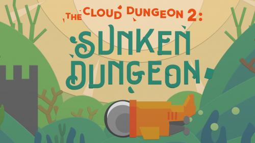 Sunken Dungeon: Color & cut-and-paste RPG. (Cloud Dungeon 2)