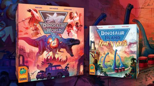 Dinosaur World and Dinosaur Island: Rawr  n Write