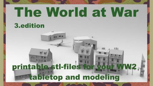 The World at War part III printable terrain