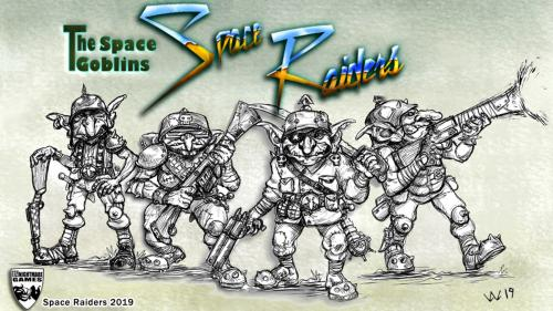 Space Raiders - The Space Goblins!