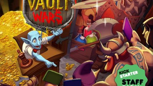 Vault Wars - Bidding and Bluffing Game by Jon Gilmour