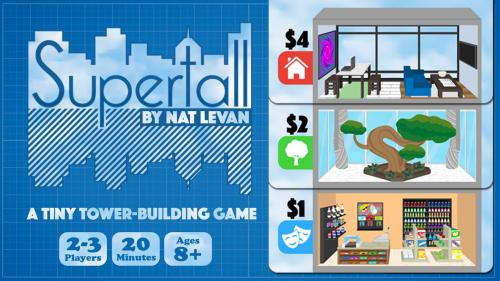 Supertall - A tiny tower-building game