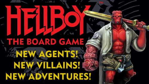 Hellboy: The Board Game Expansions and Dice Game