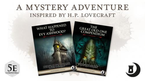 A One-shot Mystery Adventure Inspired by H.P. Lovecraft!
