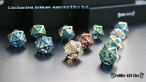 Uncharted Trilogy-Aurora Dice Set