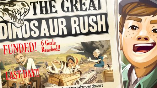 The Great Dinosaur Rush Board Game