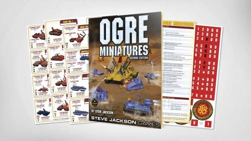 Ogre Miniatures Second Edition Rulebook