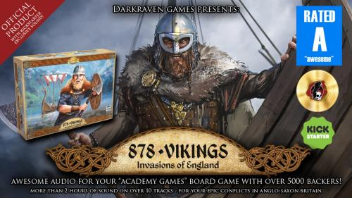 878 Vikings - Official Audio To Bring Your Game To Life