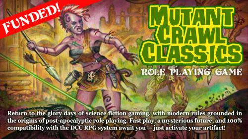 Mutant Crawl Classics RPG (MCC RPG)