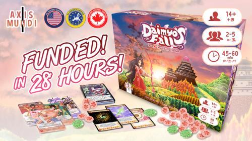 Daimyo s Fall - A Treasure Hunting Deckbuilding Game