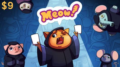 Meow! - a party game for 3-12 players