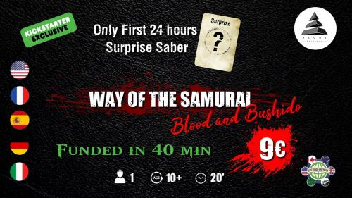 WAY OF THE SAMURAI : Blood and Bushido Expansion + Reprint