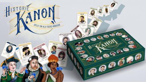HISTORIEKANON - Spelet om alla tiders kändisar