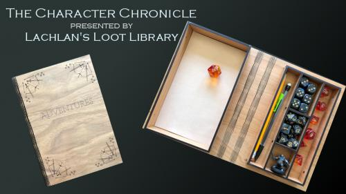 Character Chronicle: Storage with a Story