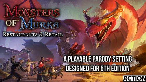 Monsters of Murka: Restaurants and Retail