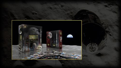 TRANQUILITY BASE board game with SOVIET MOON EXPANSION