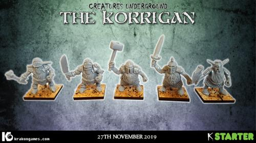 Korrigan - 28mm chaos dwarfs and gnomes