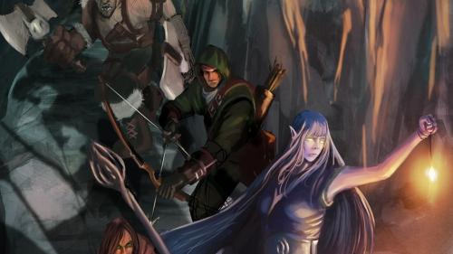 DnD 5th edition 9th level adventure pack