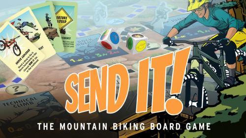 SEND IT! — The Mountain Biking Board Game