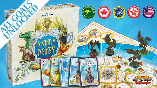 Divinity Derby - A racing & betting game of mythic stature!