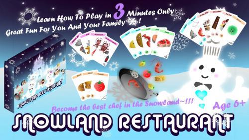 Snowland Restaurant Board Game