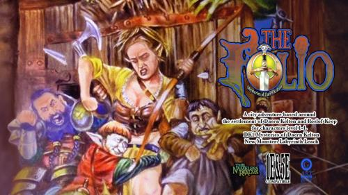 The Folio Digital Quarterly #6, AD&D & 5E Adventure Module