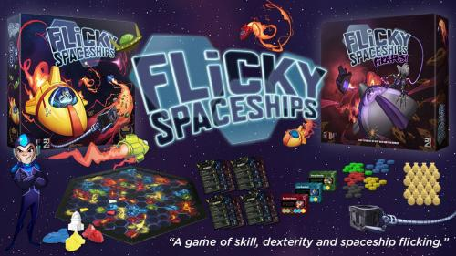 Flicky Spaceships