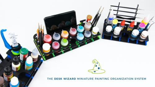 Desk Wizards - Miniature Painting Organizers with Style