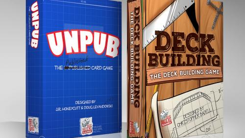 Meta Games for Small Pockets: Deck Building and Unpub