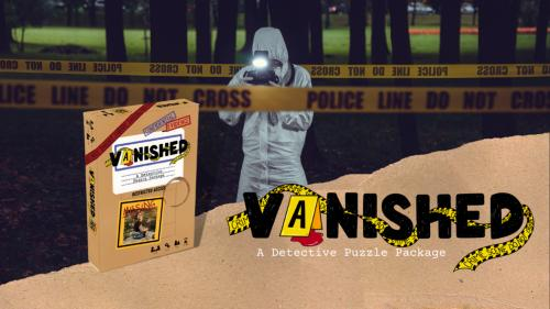 Vanished: A Puzzle Package